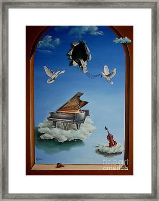 Silent Symphony Framed Print by Svetoslav Stoyanov