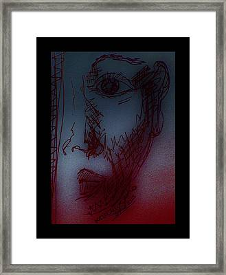 Silent Witness Framed Print by Mimulux patricia no