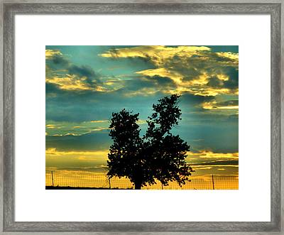 Silhouette Framed Print by Dan Sproul