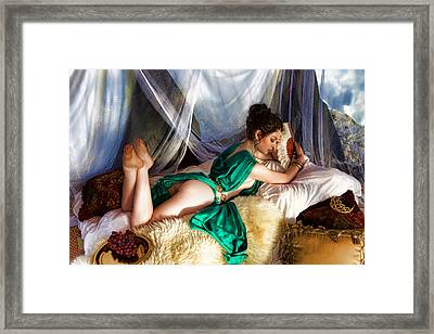 Silken Beauty Framed Print by Waywardimages Waywardimages