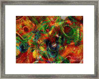 Silken Framed Print by Kathie Chicoine