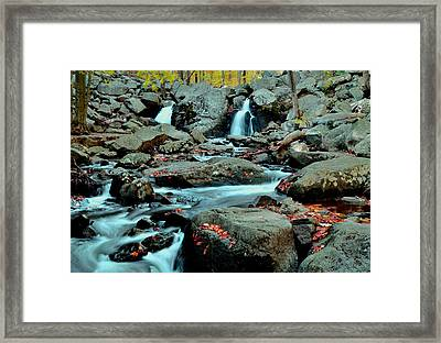 Silky Water 3 Framed Print by Allen Beatty