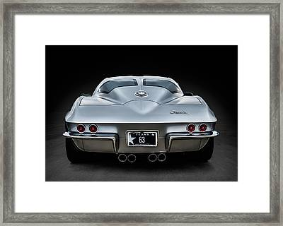Silver '63 Framed Print by Douglas Pittman