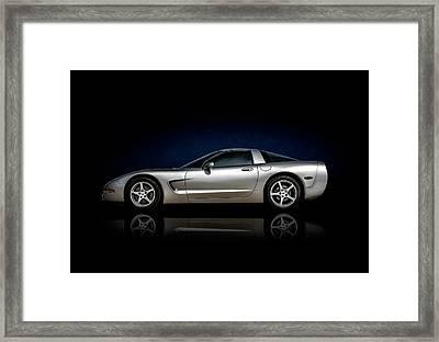 Silver C5 Framed Print by Douglas Pittman