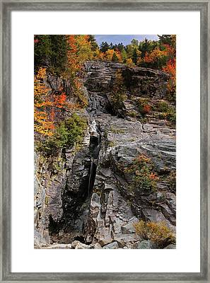 Silver Cascade Framed Print by Juergen Roth