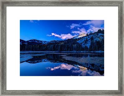 Silver Lake Framed Print by Dustin  LeFevre
