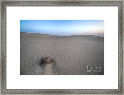 Silver Lake Sand Dunes Framed Print by Twenty Two North Photography