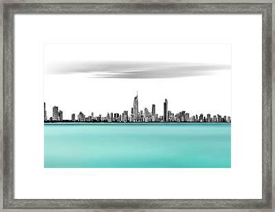 Silver Linings Framed Print by Az Jackson