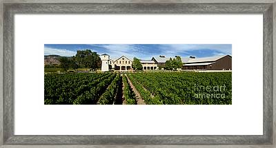 Silver Oak Cellars Framed Print by Jon Neidert