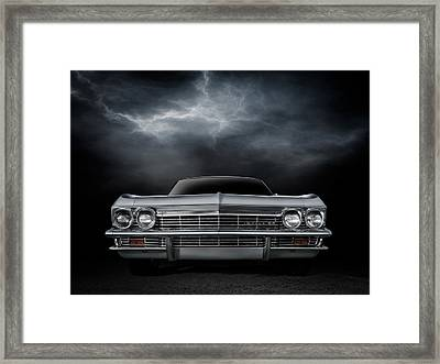 Silver Sixty Five Framed Print by Douglas Pittman
