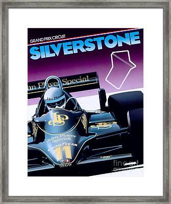 Silverstone Framed Print by Gavin Macloud