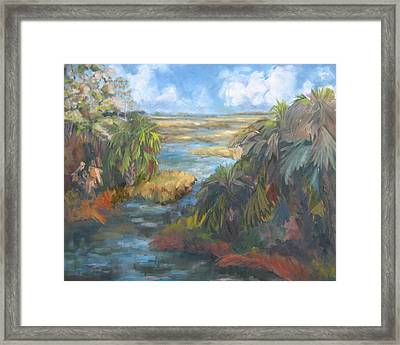 Simmons Bayou Framed Print by Susan Richardson