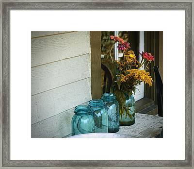 Simple Life 1 Framed Print by Julie Palencia
