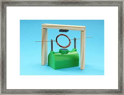Simple Motor Framed Print by Trevor Clifford Photography