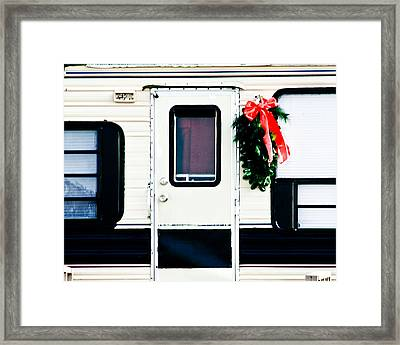 Simple Times Framed Print by Audreen Gieger-Hawkins