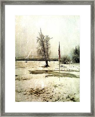 Simple Times Framed Print by Justin Ivins