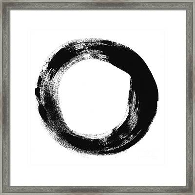 Simplicity Framed Print by Linda Woods