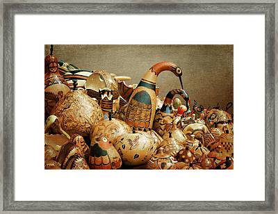 Simply Gourdgeous Framed Print by Nikolyn McDonald