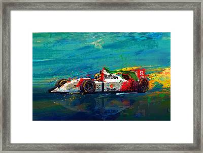 Simply The Best Framed Print by Alan Greene