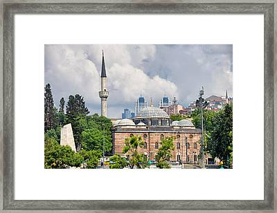 Sinan Pasha Mosque In Istanbul Framed Print by Artur Bogacki