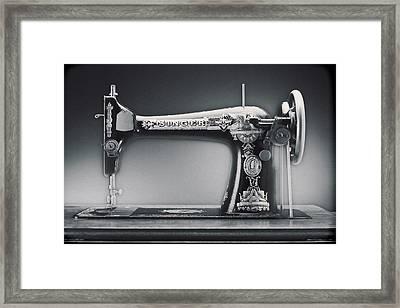 Singer Machine Framed Print by Kelley King
