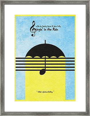 Singin' In The Rain Framed Print by Ayse Deniz