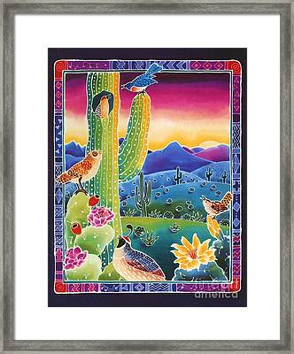 Singing In The Sunrise Framed Print by Harriet Peck Taylor