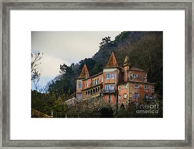 Sintra Mansion Framed Print by Deborah Smolinske