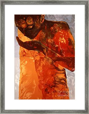 Sip Framed Print by Graham Dean