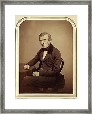 Sir Benjamin Collins Brodie Framed Print by British Library