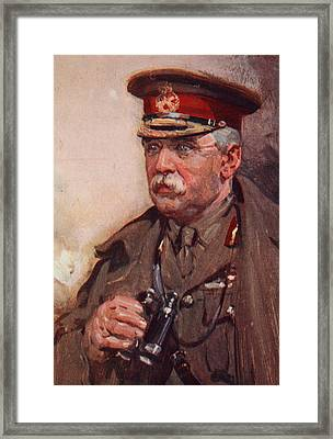 Sir John French Framed Print by Cyrus Cuneo