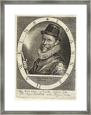 Sir John Hawkins Framed Print by British Library