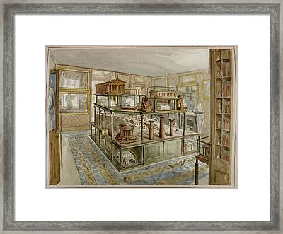Sir John Soane's Museum Framed Print by British Library