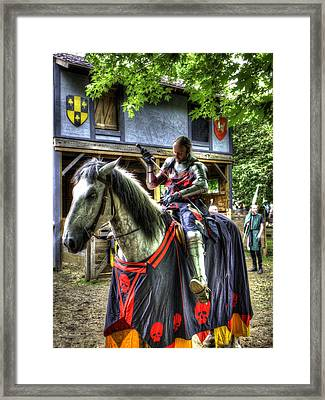 Sir Lancelot Du Lac - V2 Framed Print by John Straton