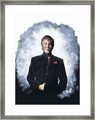 Sir Paul  Framed Print by Jerry Bates