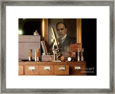 Sir William Osler Framed Print by Brooks / Brown