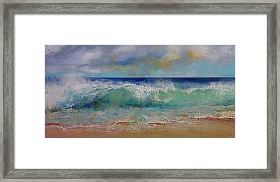 Sirens Framed Print by Michael Creese