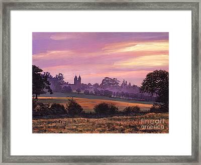 Sissinghurst Castle Sunset Framed Print by David Lloyd Glover