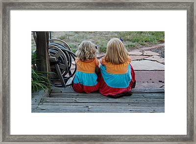 Sisters Framed Print by Casey Barnett