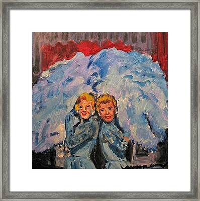 Sisters Sisters Framed Print by Susan E Jones