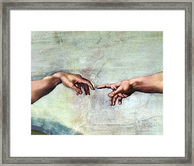 Sistine Chapel Framed Print by SPL and Photo Researchers