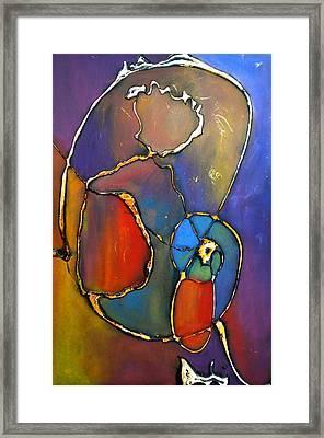 Sitting By Chance Framed Print by Debi Starr
