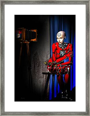 Sitting For The Camera Framed Print by Bob Orsillo