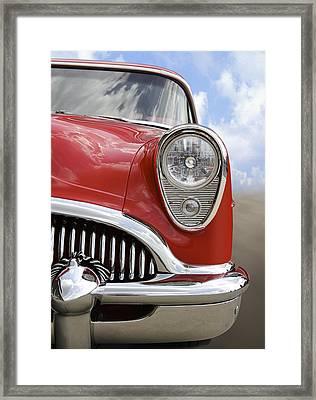 Sitting Pretty - Buick Framed Print by Mike McGlothlen