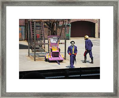 Six Flags America - 121214 Framed Print by DC Photographer