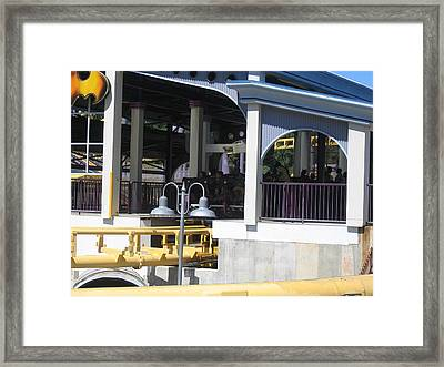 Six Flags America - Batwing Roller Coaster - 12121 Framed Print by DC Photographer