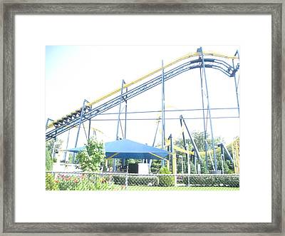Six Flags Great Adventure - 12121 Framed Print by DC Photographer
