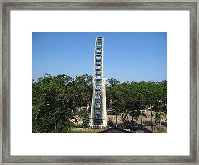 Six Flags Great Adventure - 12122 Framed Print by DC Photographer