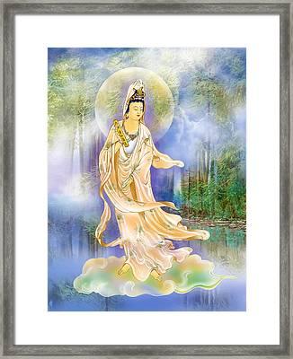 Six Times  Kuan Yin Framed Print by Lanjee Chee