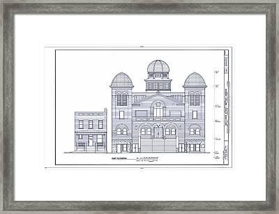 Sixteenth Street Baptist Church Birmingham Framed Print by Mountain Dreams